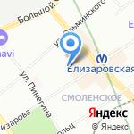 Лонас технология на карте Санкт-Петербурга
