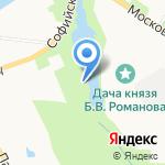 Историко-литературный музей г. Пушкина на карте Санкт-Петербурга