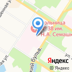 Сантехмонтаж на карте Санкт-Петербурга