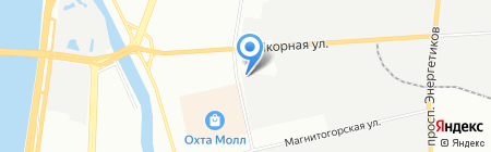 АТИС-Лаб на карте Санкт-Петербурга