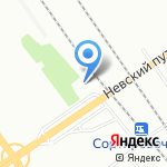ОСАХА на карте Санкт-Петербурга