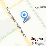 За...Лось на карте Санкт-Петербурга
