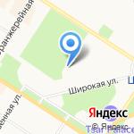 Пушкинский Городок на карте Санкт-Петербурга