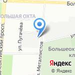 Эколаб на карте Санкт-Петербурга