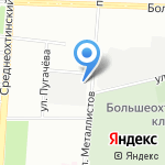 Докер Кемикал ГмбХ Рус на карте Санкт-Петербурга