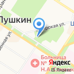 Старая Корчма на карте Санкт-Петербурга