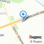 Союз парикмахеров и эстетистов Северо-Запада на карте Санкт-Петербурга