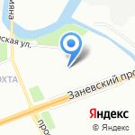 Центр инноваций пищевых производств Северо-Запад на карте Санкт-Петербурга