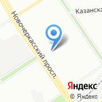 Зоосервис на карте Санкт-Петербурга