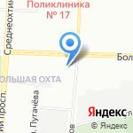 Спецтранс ПАЛИР на карте Санкт-Петербурга