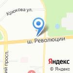 Банк ВТБ 24 на карте Санкт-Петербурга