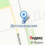 21 км на карте Санкт-Петербурга