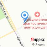 Грузинский лаваш на карте Санкт-Петербурга