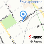 Столион на карте Санкт-Петербурга