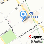 Градъ Медов на карте Санкт-Петербурга