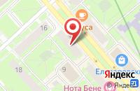 Схема проезда до компании Петербургская Строительная Компания  в Санкт-Петербурге