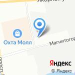 Триада на карте Санкт-Петербурга