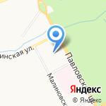 БИОТРОФ на карте Санкт-Петербурга