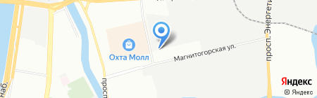 ЕвроПласт на карте Санкт-Петербурга