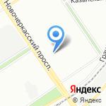Городской диабетологический центр №3 на карте Санкт-Петербурга