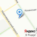 Средняя общеобразовательная школа №490 с углубленным изучением иностранных языков на карте Санкт-Петербурга
