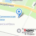 Компания Балтфуд на карте Санкт-Петербурга