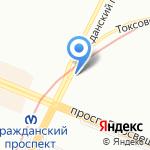 ЭКОСТРОЙ на карте Санкт-Петербурга