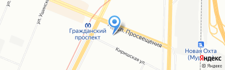 ПожИнтер на карте Санкт-Петербурга
