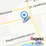 Кожно-венерологический диспансер на карте Санкт-Петербурга