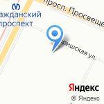 Детская поликлиника №59 на карте Санкт-Петербурга