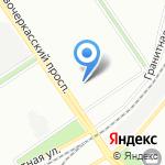 Инфомат на карте Санкт-Петербурга