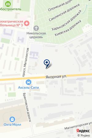 Санкт-Петербург, Якорная улица, дом 11 - Желтые