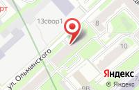 Схема проезда до компании Солнце в Санкт-Петербурге