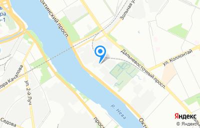 Местоположение на карте пункта техосмотра по адресу г Санкт-Петербург, Октябрьская наб, д 6 литер АБ