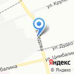 Дилиском на карте Санкт-Петербурга