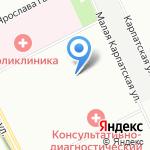 Средняя общеобразовательная школа №322 на карте Санкт-Петербурга