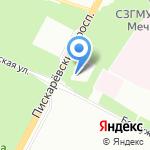 Часовня Благовещения Пресвятой Богородицы на карте Санкт-Петербурга