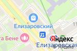 Схема проезда до компании Оникс в Санкт-Петербурге