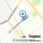 ПМД Технические средства безопасности на карте Санкт-Петербурга