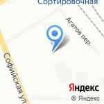 БасРемСервис на карте Санкт-Петербурга