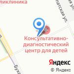 Графит на карте Санкт-Петербурга