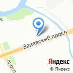 Альпиндустрия на карте Санкт-Петербурга