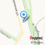 Специализированный пункт по замене масел на карте Санкт-Петербурга