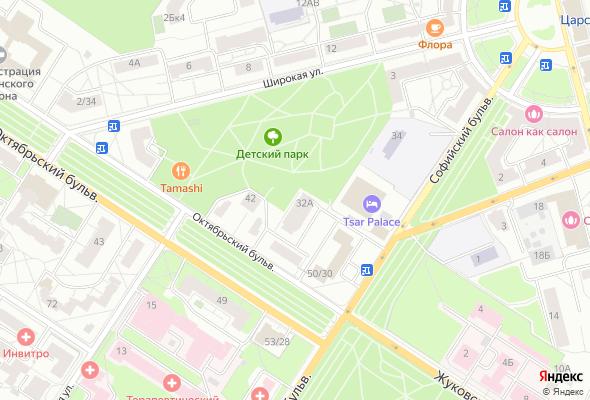 ЖК Пушкин, Софийский бульвар 32А