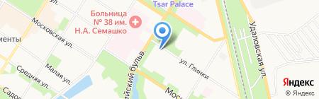 Средняя общеобразовательная школа №403 на карте Санкт-Петербурга