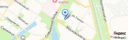 Детская художественная школа им. И.П. Саутова на карте Санкт-Петербурга