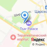 Софийский бульвар на карте Санкт-Петербурга