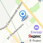 Траектория Успешного Решения на карте Санкт-Петербурга
