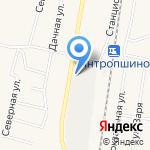 Сталлеон на карте Санкт-Петербурга