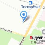 Толстый Лори на карте Санкт-Петербурга